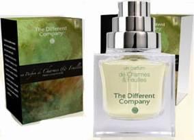 The Different Company Un Parfum de Charme et Feuilles